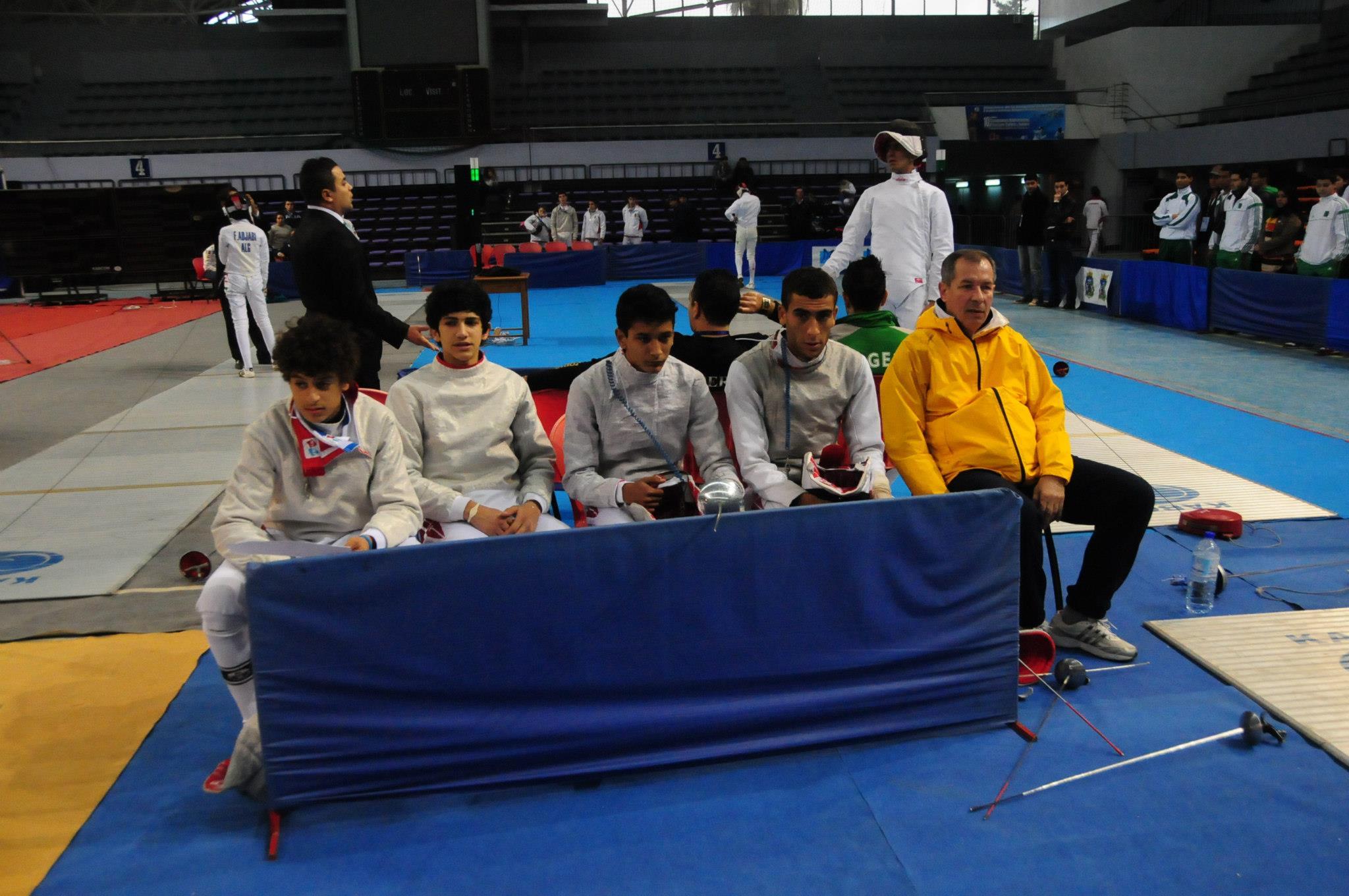 Campionatele Arabe 2011 Loc 3 Juniori.